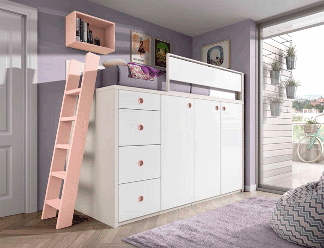 Muebles juveniles baratos en Málaga